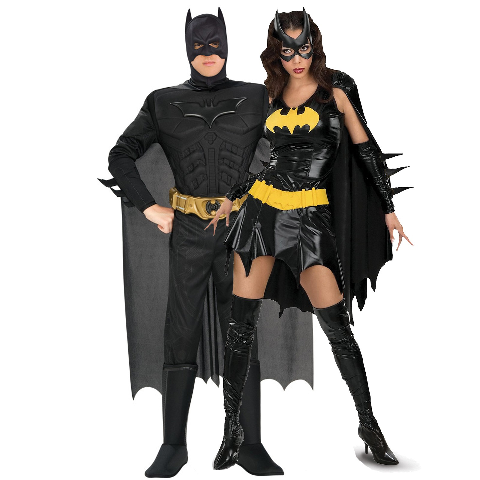 Batman And Bat Girl Deluxe Couples Costume -1251